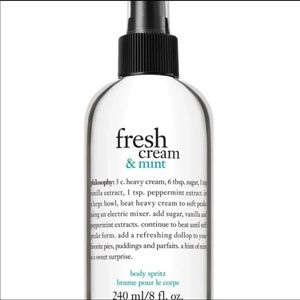 Philosophy Fresh Cream & Mint Spray